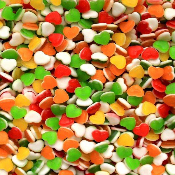 Gummy Disney Hearts