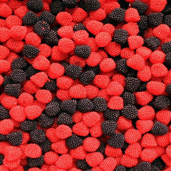 Granular Berry Gummy