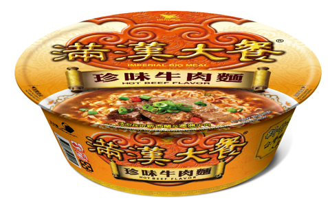 Imperial Big Meal Instant Bowl Noodle Hot Beef Flavour